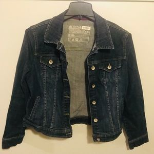 Merona Dark Wash Denim Jacket